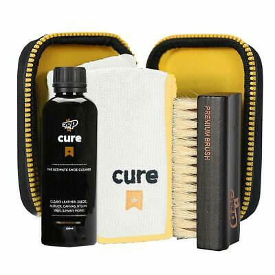 CREP PROTECT CURE Ultimate Shoe Cleaning KIT (Travel case,Solution,Brush,Cloth)
