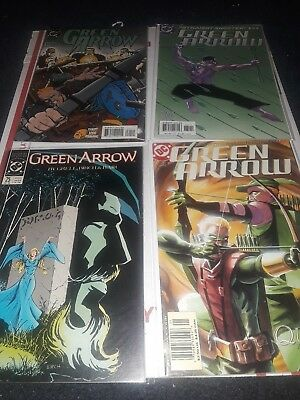 Green Arrow Comic Book Lot Of 5