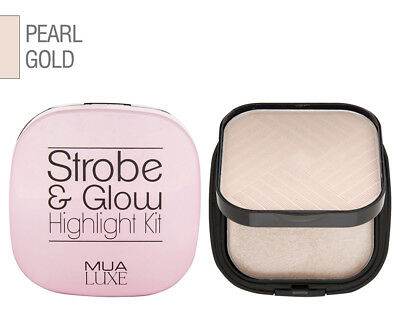 Makeup Academy Luxe Strobe & Glow Highlight Kit 17.5g - Pearl Gold