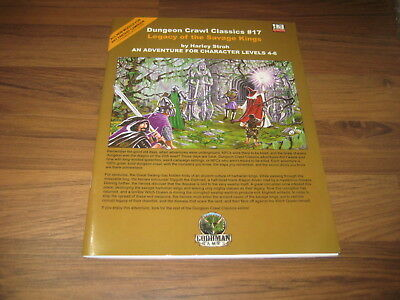 DCC Dungeon Crawl Classics #17 Legacy of the Savage King SC 2005 Goodman Games