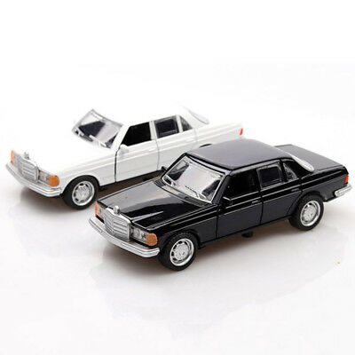 Vintage Mercedes-Benz W123 1:36 Scale Car Model Diecast Gift Toy Vehicle Kids