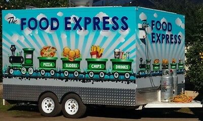 mobile food van with combi oven and frima cooking center as new