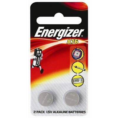 2pk Genuine Energizer A76/LR44 1.5V Alkaline Batteries Shipped from Melbourne