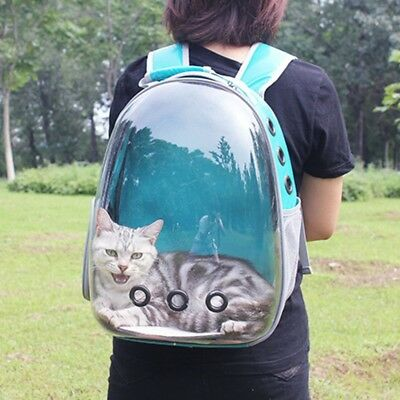 BREATHABLE ASTRONAUT PET Cat Dog Puppy Carrier Travel Bag Space Capsule  Backpack