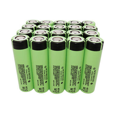 1-20x 18650 3400mAh Li-ion High Drain NCR Rechargeable Battery Flat Top for Smok