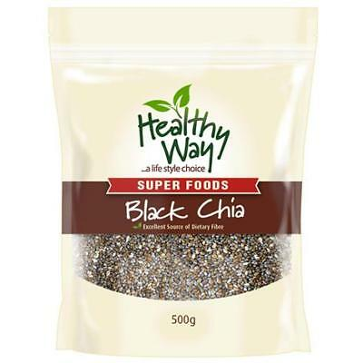 Healthy Way Black Chia 500g