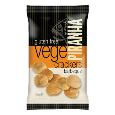 Piranha Vege Crackers Barbeque 100g