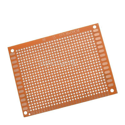 2Pcs 7 x 9 cm DIY Prototype Paper PCB For Universal Board prototyping pcb 7X9