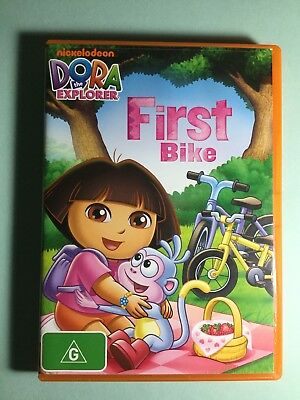 DORA THE EXPLORER First Bike DVD- LIKE NEW -Get it Fast!