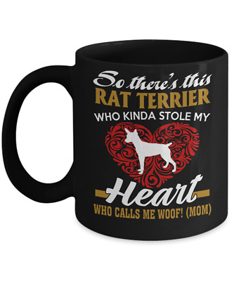Rat Terrier Dog,American Rat Terrier,Ratting Terrier,Decker Giant,Coffee Mug