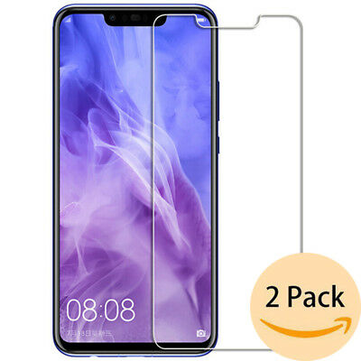 For Huawei Nova 3 3i Mate 20 Lite Screen Protector Tempered Glass Film Skin Case