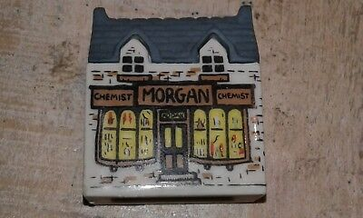 wade minature buildings houses shop morgan chemist ornament  collectables