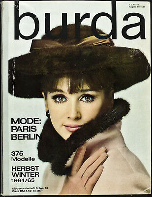 Burda Mode Paris Berlin SH 18 H/W 1964/65
