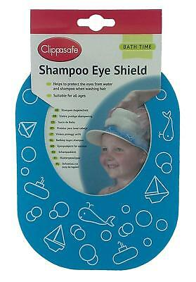Childs Head Shampoo Shield For Bath Time Protects Eyes - Slip On/ Off