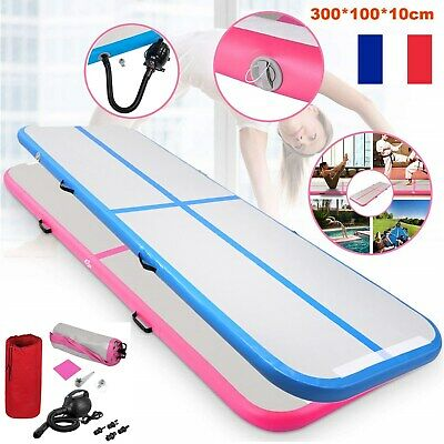 Airtrack Tapis Gymnastique Piste Yoga d'entraînement Gonflable d'air Gym / Pompe