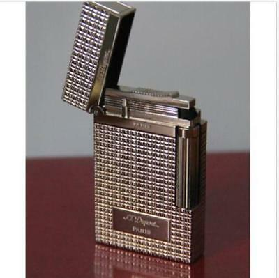 NEW S.T Dupont lighter Memorial brushed Bright Sound Silver Lighters 31#