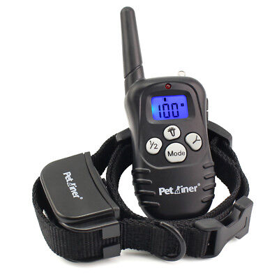 Petrainer Dog Training Shock Collar &Remote Electric Rechargeable Bark Control