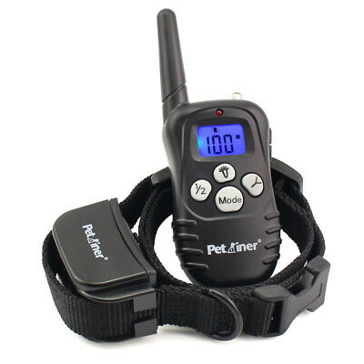 Petrainer Dog Training Shock Collar with Remote Rechargeable Electric Dog Collar