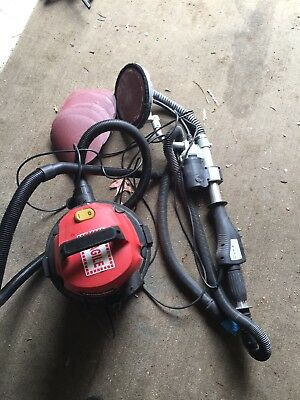 Electric Dustless Dry Wall Plaster Sander With Wet N Dry Vaccum