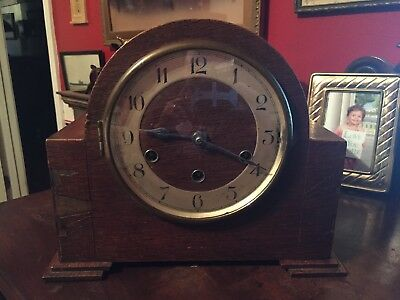 Vintage Mantle Clock Foreign