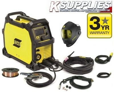 ESAB REBEL  EMP215ic 110/240V MULTI PROCESS INVERTER WELDER MIG TIG ARC WELDER