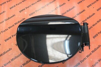 Bmw 1 Series F20 Oem Complete Fuel Filler Cover Flap Pot In Black 7238095