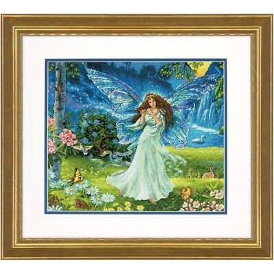 "DIMENSIONS GOLD COLLECTIONS""SPRING FAIRY""CROSS STITCH KIT Kreuzstich STICKPACKUN"
