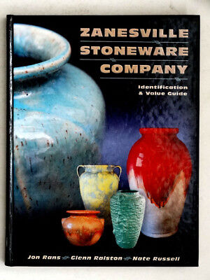 Antique ZANESVILLE STONEWARE Vintage AMERICAN Ohio ART POTTERY Reference Book