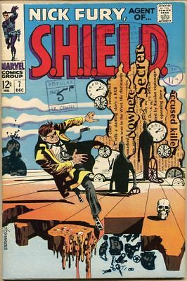 Nick Fury, Agent Of Shield #7 - VG+