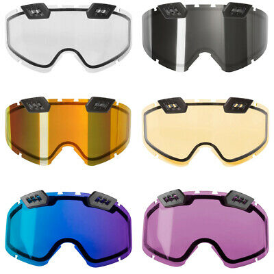 CKX Titan 210° Controlled Ventilation Double Snow Goggle Lens