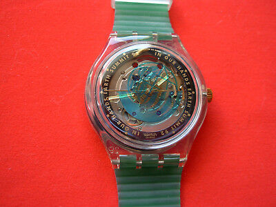 Swatch Automatic Time To Move - Sak102 - 1992 - New Perfect