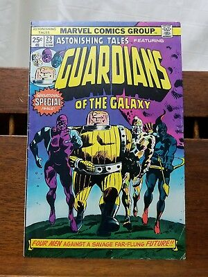 Vintage Bronze Age Comic Book ASTONISHING TALES #29 Guardians of the Galaxy