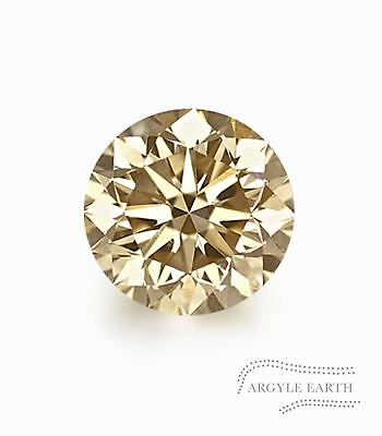 .15ct Authentic Australian Argyle Champagne Diamond - C3