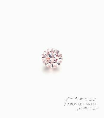 .01ct Authentic Australian Argyle Pink Diamond - 8P