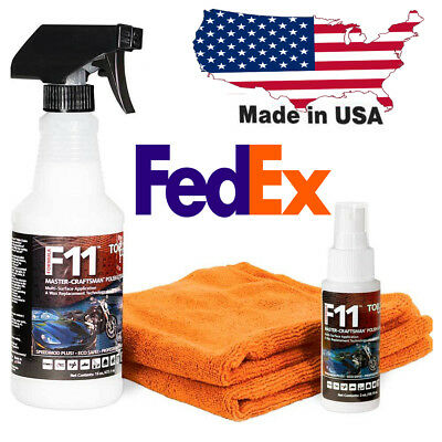 topcoat  f11 spray microfiber towel super car saver wax oz 16oz bottle save