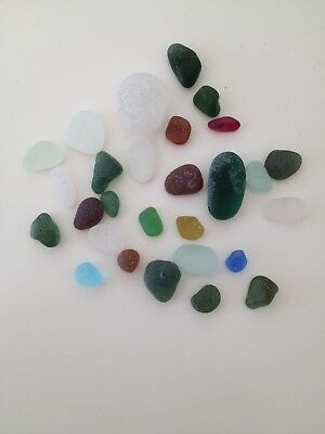North East Coast Seaham Sea Glass (mixed sizes and colour) 1