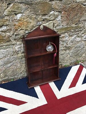 Mid Century Mahogany 3 Tier Shelf Or Small Book Case