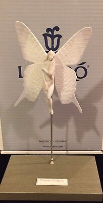 LLADRO Urania Fulgens Angel Fairy butterfly - excellent with Box
