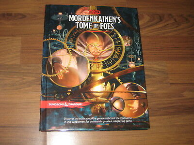 D&D 5th Edition Mordenkainen's Tome of Foes Hardcover WotC 2018 Neu New