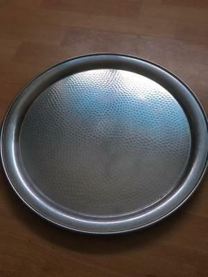 vintage firth stay bright round tray / serving tray/ drinks tray