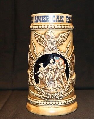 1976 Vintage Beer Stein Great American Revolution no.143  Double Stamped