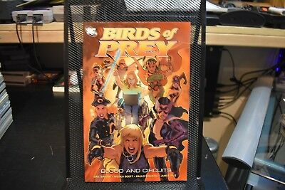 Birds of Prey Blood and Circuits DC TPB Brand New Huntress Black Canary Oracle