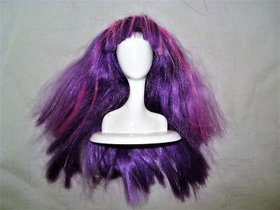 Monster High or Spin Master LIV Doll Accessory WIG Purple TLC