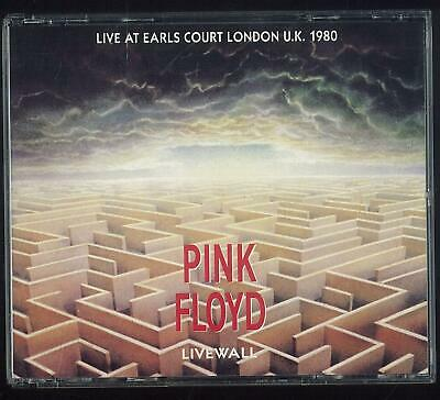 Pink Floyd Livewall Gscd 2100 Live At Earls Court London 1990 2 Cd Fat Box Ottim
