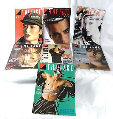 Great collection 6 1980s The Face magazine music punk pop culture