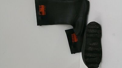 """TREDS 17859 Super Tough 17"""" Pull-On Stretch Rubber Overboots, XS"""