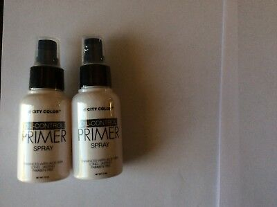 City Color Oil-Control Primer Spray 2 pack W5344