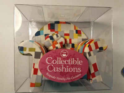 Collectible Pin Cushions By Dritz - Multicolored Overstuffed Sofa Couch - NIB