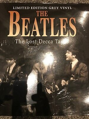 The Beatles - The Lost Decca Tapes - Ltd Edt. Grey Vinyl Lp - New & sealed