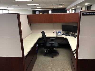 Kimball Cetra 7x8' Office Cubicles / Workstations, Refurbished